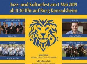 Plakat: Der Löwe jazzt